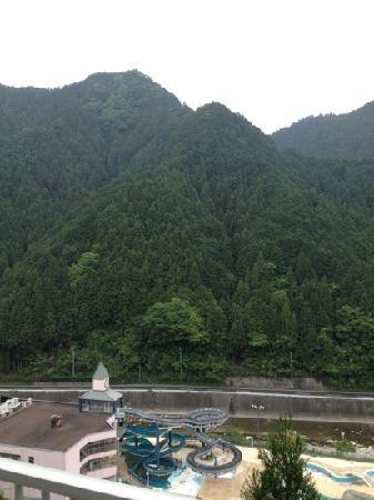 Hinotani Onsen Misugi Resort: from room window