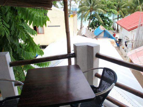 Mito's Place Boracay: View From our Balacony