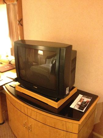 Grand Hi-Lai Hotel : Big TV