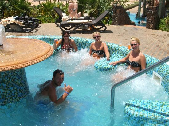 Hotel Riu Touareg: jacuzi