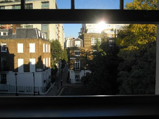 37 Trevor Square: View from main bedroom on top floor