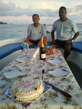 Indigo Seychelles Boat Charter and Excursions Day Tours : Super anniversaire, merci encore