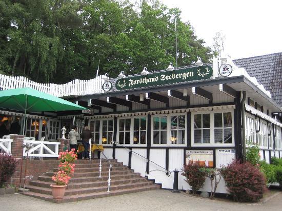 Forsthaus Seebergen: Das Restaurant