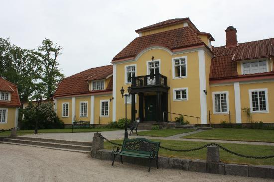 Möckelsnäs Herrgard: Entrance