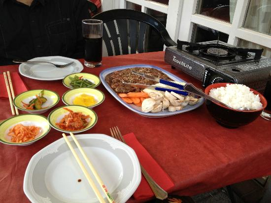 Restaurant Kimchi: Bulgogi at your table - with included kimchi