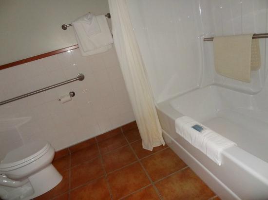 بست ويسترن هوتل سانت بيرنارد: Bath room