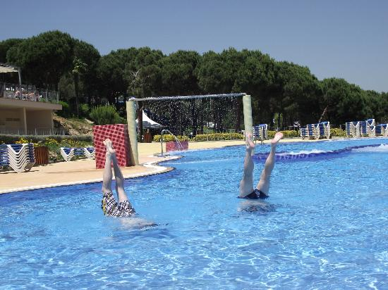 Water World : Waterworld family lagoon with bubble pools