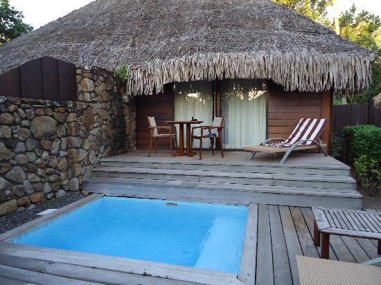 Bungalow avec piscine priv e photo de manava beach - Bungalow guadeloupe piscine privee ...