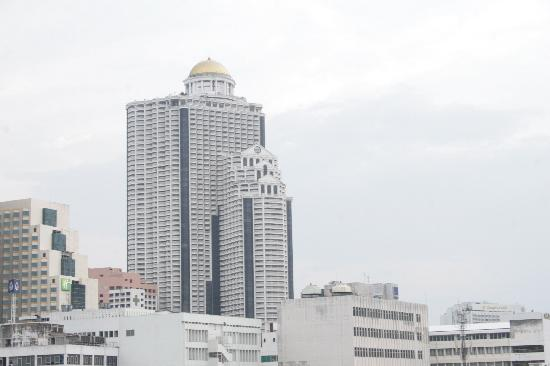 Silom City Hotel: view from our superior room