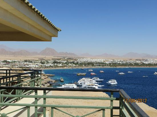 Stella Di Mare Beach Hotel & Spa: Chambre 8ème étage vue sur Naama Bay