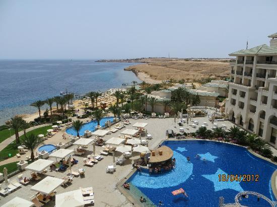 Stella Di Mare Beach Hotel & Spa: Piscines sur deux étage