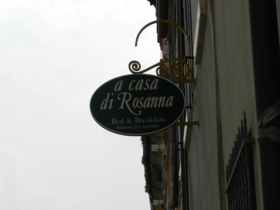 a casa di Rosanna