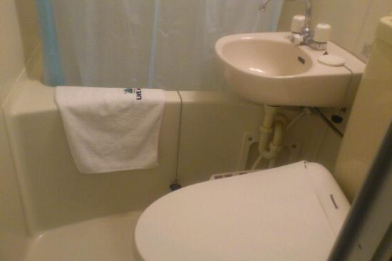 Hotel Livemax Higashi Ueno : バスルーム