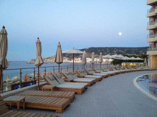 Karpathos Town (Pigadia), Grecia: luna