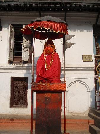 Hanuman Dhoka Square: Hanuman religious statue