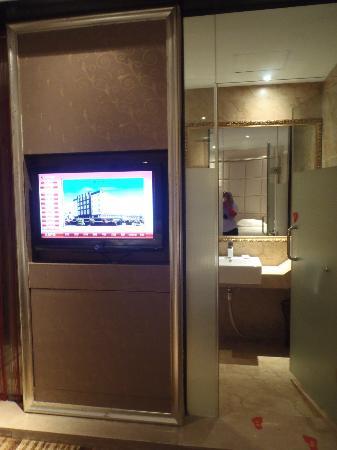 Hangzhou YongHui International Hotel: TV