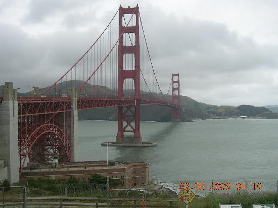 San Francisco, CA: Golden Gate Bridge, SFO