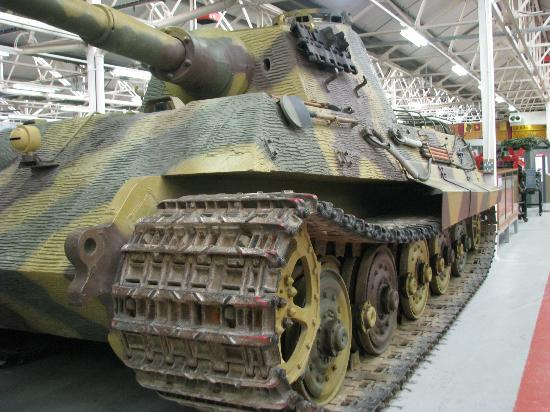 Bovington Tank Museum - King Tiger (German WWII)