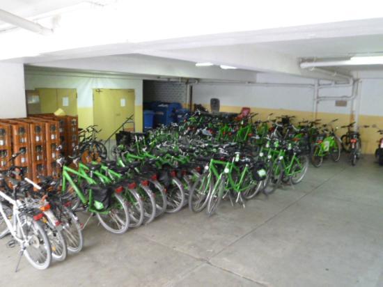 Hotel Wilder Mann: 'Fahrrad'-Garage