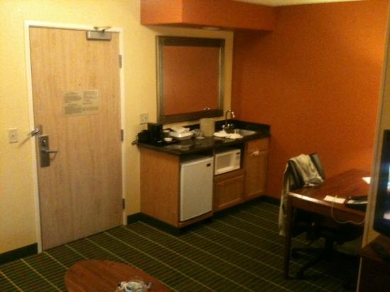 SpringHill Suites Tempe at Arizona Mills Mall : kitchenett