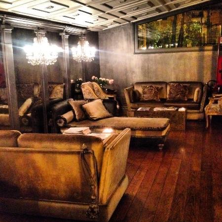 Hotel San Anselmo: Hotel lounge