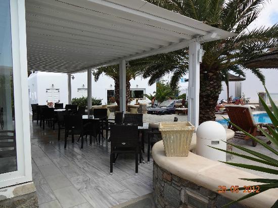 Petinaros Hotel: Frühstücksbereich