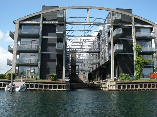 Stromma Canal Tours Copenhagen: Torpedo Hanger, Converted Into Luxury  Apartments