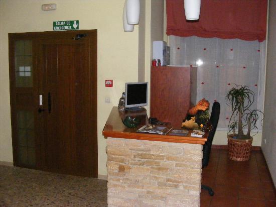 Hostal Serruchi: Hall del hostal