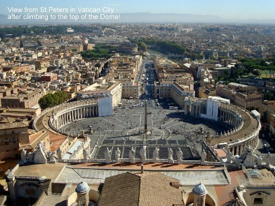 ... the Dome - Picture of St. Peter's Basilica, Vatican City - TripAdvisor