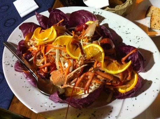 Cozze & Dintorni: aragosta con arancia e finocchio