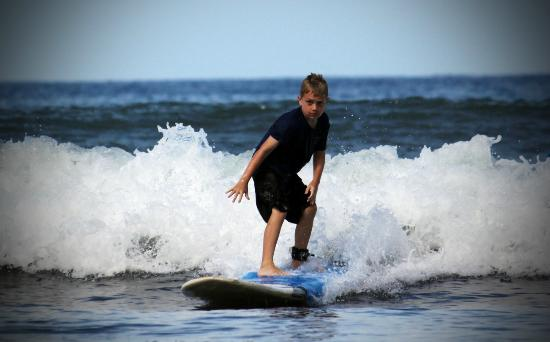 Paia, HI: Zack had my 9 year old riding waves in no time.