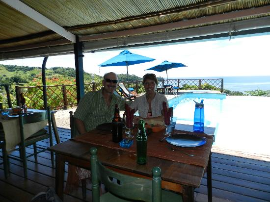 Le Grand Bleu : Dining is a pleasure great food and a stunning view