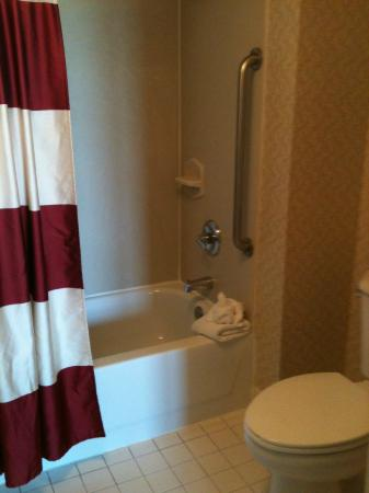 Residence Inn Austin Round Rock: Nice spacious Bathroom!