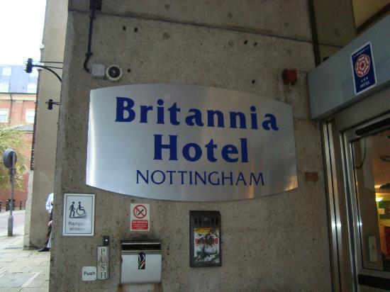 Britannia Hotel St James Street Nottingham
