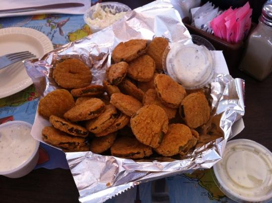 Seafood Kitchen : Fried Pickles