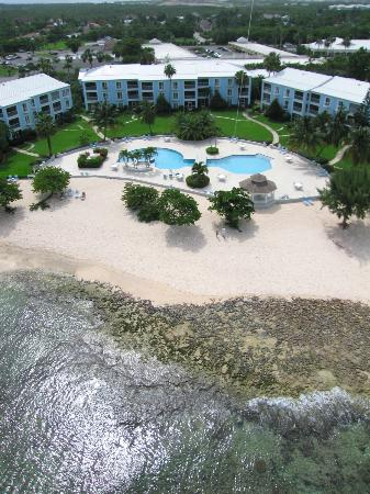 The Grandview Condos Cayman Islands: Kite aerial photograph 2