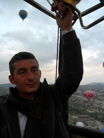 Urgup Hot Air Balloons: Pilot Halil