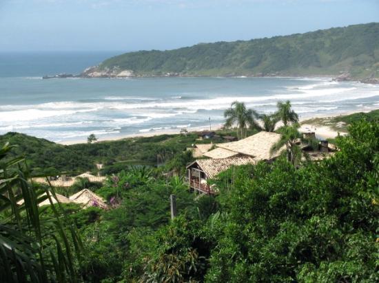 Praia do Rosa view
