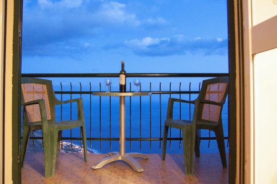 Faja da Ovelha, Portugal: Balkon