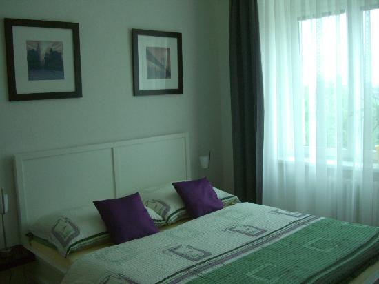 Hotel Rainbow-Inn: super gemütliches Bett