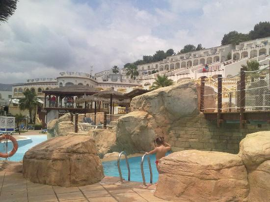 Restaurante bufet libre picture of ar imperial park spa for Piscinas calpe