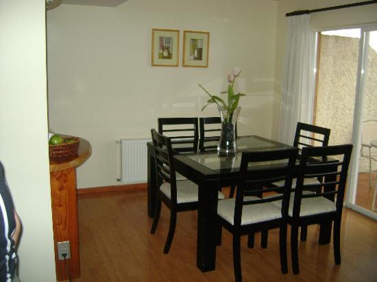 Sol y Lago Apart Hotel: Sala de jantar