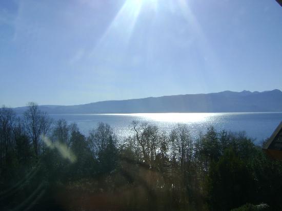 Sol y Lago Apart Hotel: Vista do apartamento -Lago Villarrica
