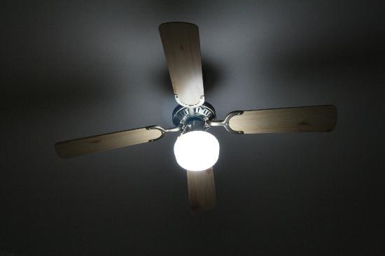 Hotel Ulisse: Ventilatore camera