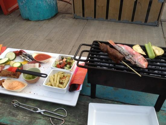 Solbeach: grilling and chilling