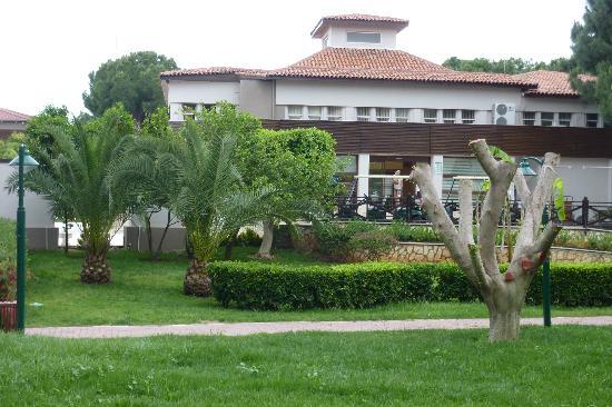 كريستال فلورا بيتش ريزورت: hotel grounds