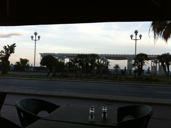Sarao Restaurant & Bar : view of the seafront from Saroa restaurant