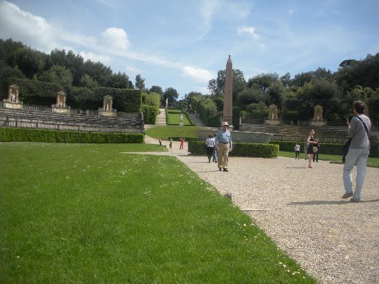 Hotel Europa: Entrance to Boboli Gardens