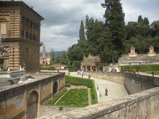 Hotel Europa: Boboli Gardens in Florence