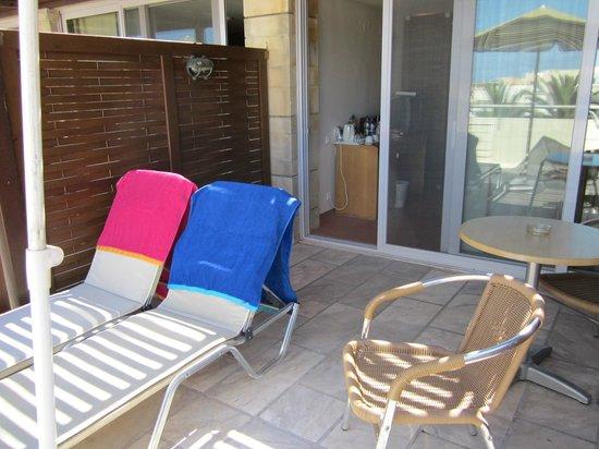 Minos Hotel: Room 753 private balcony